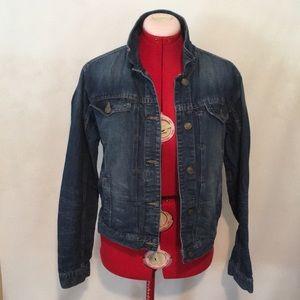 Zara Heritage Denim Jacket L